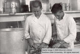 Zion cooks: Dick McNeeley and Bevan Corry