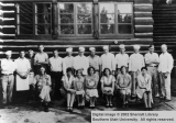 Grand Canyon Lodge kitchen crew, early 1930's