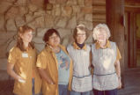 Naomi Jermain and cabin maids on North Rim