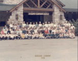 Grand Canyon Lodge group photo, 1970