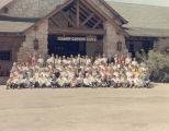 Grand Canyon Lodge group photo, 1969