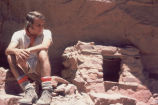 Bob Loft at Indian Granery, Grand Canyon