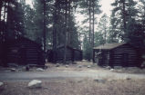 Log cabins at North Rim Inn area