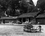 Swimming pool at Zion Lodge