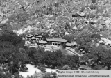 Bird's eye view of Zion Lodge