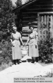 Cabin maids Erna Roberts and Betty Dalley