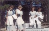 Cabin maids, Grand Canyon 1950