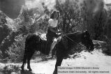 Zion trail ride, Bernice Worthen