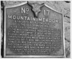Monument at Mountain Meadows