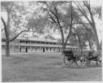 Barracks at Fort Laramie